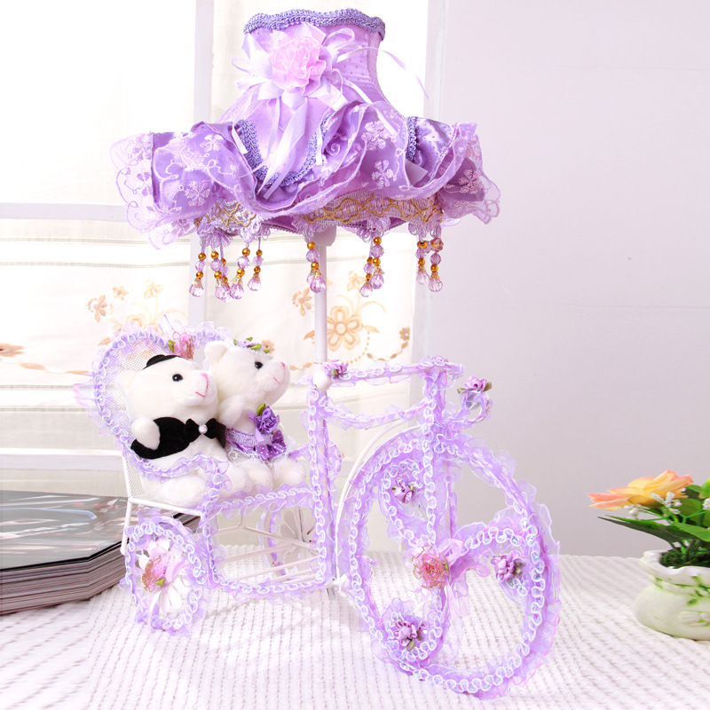 Romantic Wedding Gifts: Romantic Wedding Gift Creative Decorative Table Lamp Light