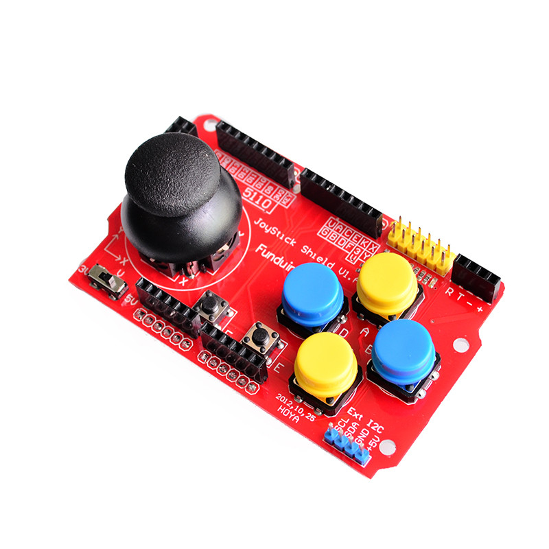 Joystick Shield Expansion Board Analog Joystick Keyboard And Mouse Functions For Arduino Back To Search Resultstools