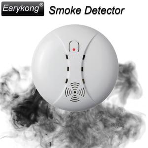 Image 5 - New 433 Wireless Smoke Detector Fire Alarm Sensor For Wifi / GSM / PSTN Home Burglar Indoor Home Safety Garden Security SM 02