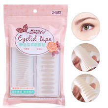 LAMEILA 240Pairs Double Eyelid Tape Clear Eye Stickers Invisible Double Eyelid Tape Big Eyes Eyelid Tools