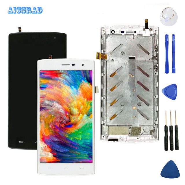 AICSRAD For homtom ht7 ht7 pro LCD Display +Touch Screen Digitizer Assembly Replacement Accessories ht 7 pro ht7pro +tools