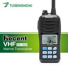 חם למכור VHF 156 163 mhz עמיד למים IP 67 ימי כף יד שתי דרך רדיו RS 36M