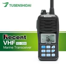 Venda quente vhf 156 163 mhz impermeável IP 67 marinho handheld rádio em dois sentidos RS 36M