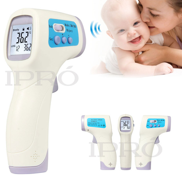 Sin contacto Del Bebé/Adulto Termometro Digital Por Infrarrojos Termómetro de Frente Termómetro Del Cuerpo Temperatura Pistola herramienta de Diagnóstico