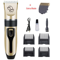 USB Pet Hair Clipper Rechargeable Low noise Professional Dog Hair Trimmer Shaver Hair Cutter Dog Haircut Machine Cat Grooming