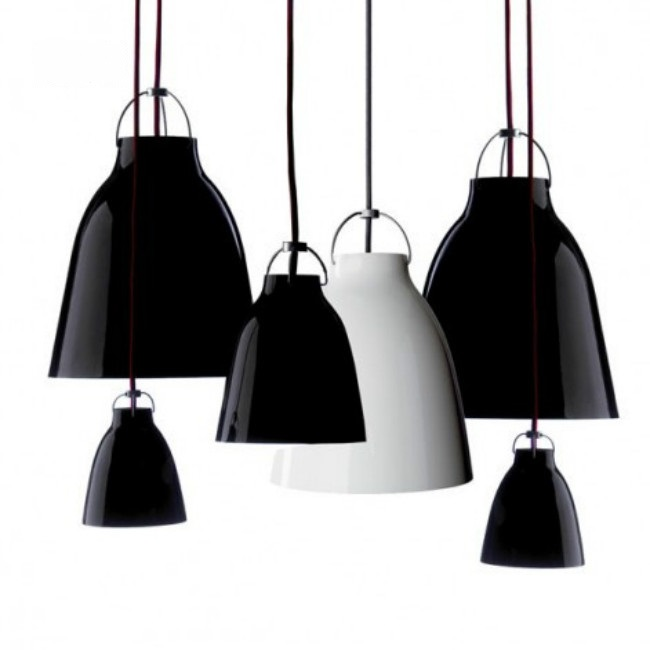 A1 minimalist Caravaggio Modern black/white pendant lights Caravaggio lamp trigeminal aluminum Restaurant pendant lamps a1 black stent modern minimalist vintage
