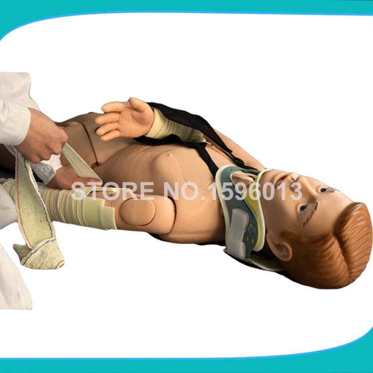 Advanced External Fixation Training Simulator,Limbs Fracture Manikin,First Aid Nursing Training Manikin free shipping dahua cctv camera 4k 8mp wdr ir mini bullet network camera ip67 with poe without logo ipc hfw4831e se