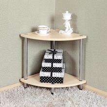 Простой журнальный столик для гостиной, креативный угловой шкаф, маленький треугольный шкафчик, Веерообразный угловой уголок