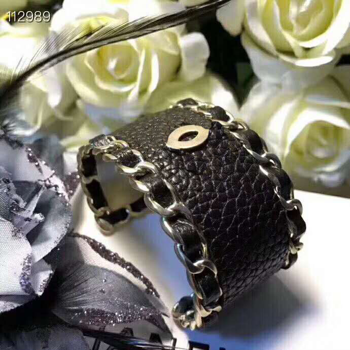 Hot Brand Fashion Jewelry For Women Leather red and black open type bracelet Cute Party Bangles
