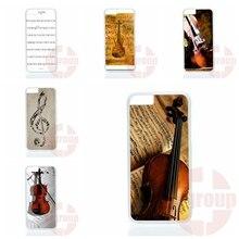 Violine und musiknote für apple iphone 7 plus für huawei honor 5c 5×7 v8 p9 lite nexus 6 p bags koffer