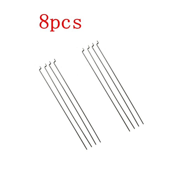 freeshipping su27 f22 f16 j10 1 2mm kt board aircraft rudder steel wire model airplane parts