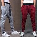 2017 New Men Harem Pants Fashionable Personality Casual Loose Hip Hop Dance Male Trousers On Sale M-XXL Sportwears 8 Color Y046