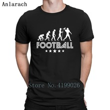29b111ffebb Retro Football Evolution T Shirt O Neck Trendy Cool Funny Casual Funny T  Shirts Summer Style