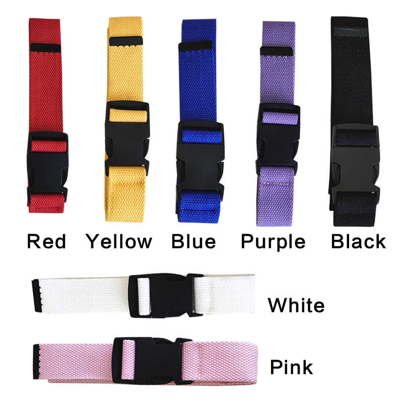Erwachsene Verstellbare All-Spiel Gürtel Unisex Koreanischen Stil Leinwand Gürtel Vintage Kunststoff Schnalle Elastische Feste Farbe Lange Bund