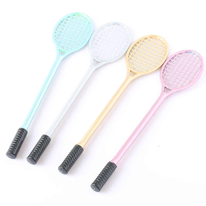 PVC Badminton Racket for Kids Floam Putty Cream Model Clay Tool DIY Fluffy Slime Form Crystal Soil Kit Clear Slime black