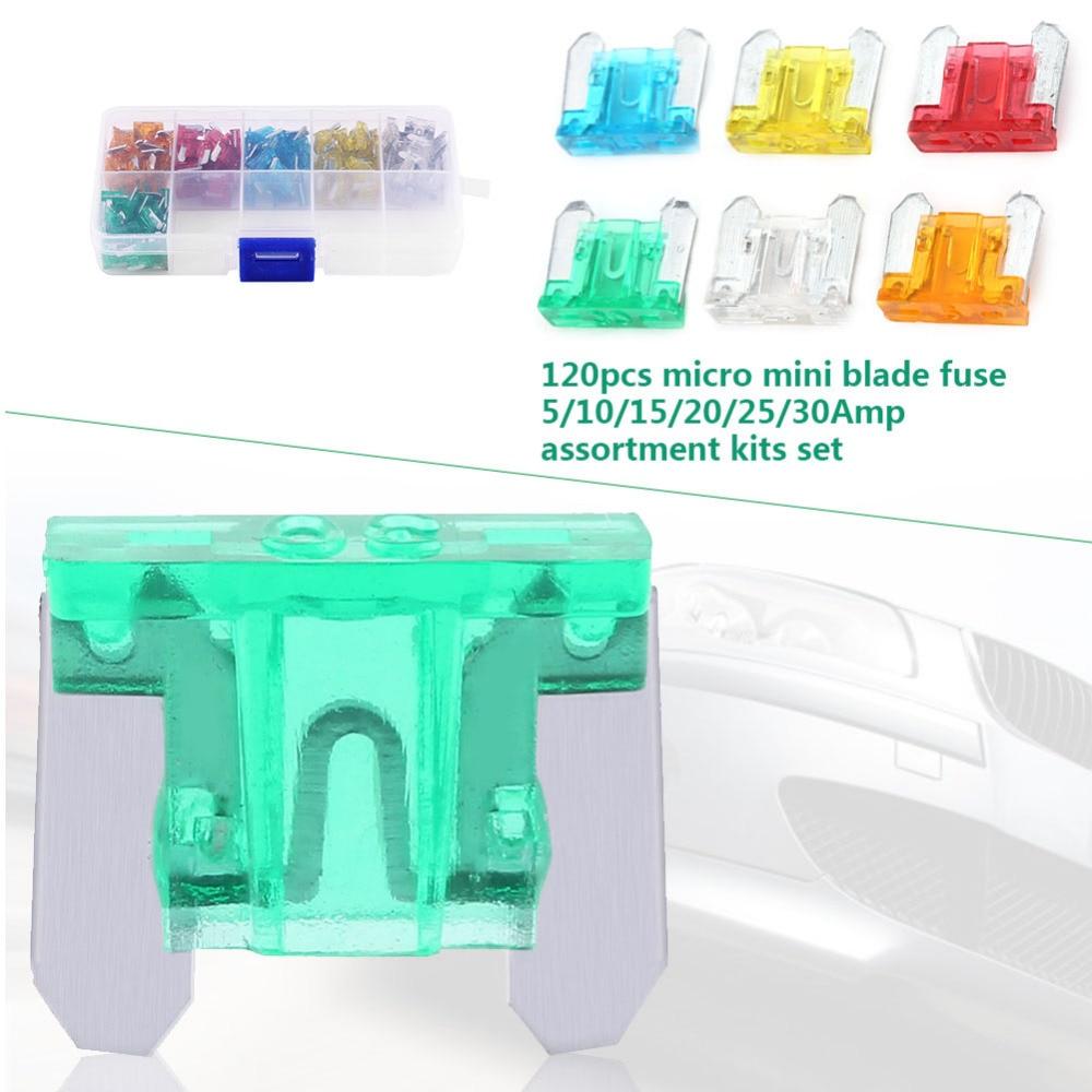 Green Mini Fuse 30 amp Automotive Micro Fuse