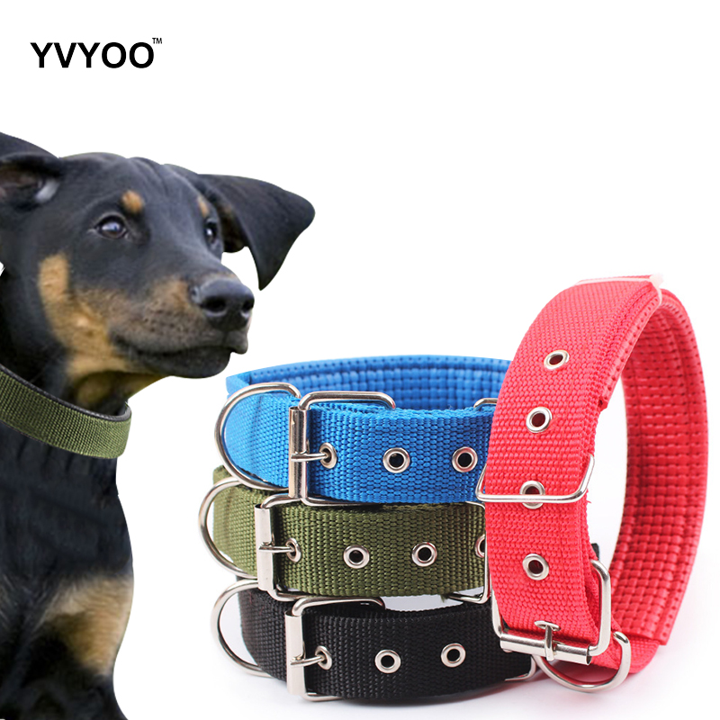 YVYOO Comfortable Pet Dog Foam Collar Adjustable Dogs Collars For Small Medium Large Dog cats S/M/L/XL A15