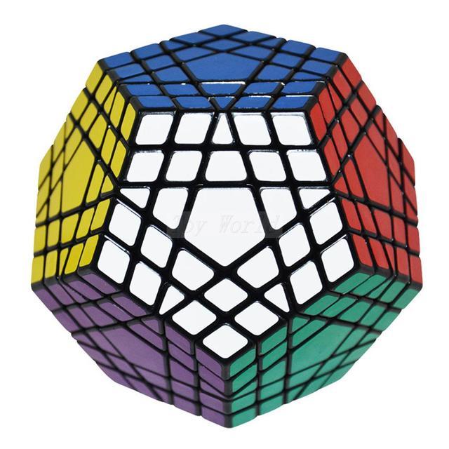 Nueva Shengshou Cubo Mágico Gigaminx Cubo Mágico Giro Puzzle Profesional Al Por Mayor Metalizado Juguetes juego Educativo Juguetes