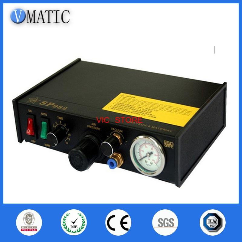 Free Shipping 220V Auto Glue Dispenseing Solder Paste Liquid Controller Dropper SP982 Glue Dispensing Machine цена 2017