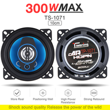 2pcs 4 Inch 2 Way 300W Car Speaker Automobile Car HiFi Audio Full Range Frequency Coaxial Speaker High Pitch Loudspeaker for Car high end 6 5 inch car audio speaker 60w 4ohm high pitch vehicle auto automobile loud speaker bass hifi audio speaker