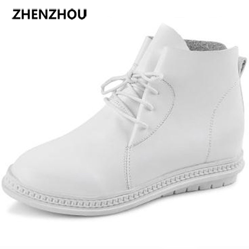 zhen zhou 2017 spring and autumn women's new fashion trend leadership The increased  Martin boots exemption from postage