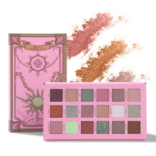 UCANBE New Magic Spell 18 Color Eye Shadow Pearl Matte Makeup Eyeshadow Pallete