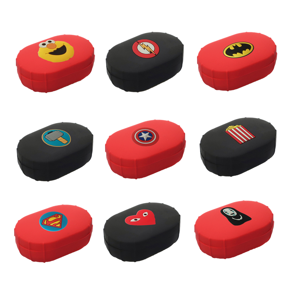 Marvel Avengers Cute Cover For Airdots Case For Xiaomi Redmi Airdots Youth Soft Silicone Protective Shell Charging Box TPU Frame