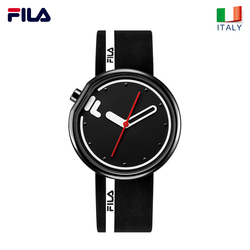 FILA watch men and women couple watch quartz watch sports student simple fashion silicone belt watch 161