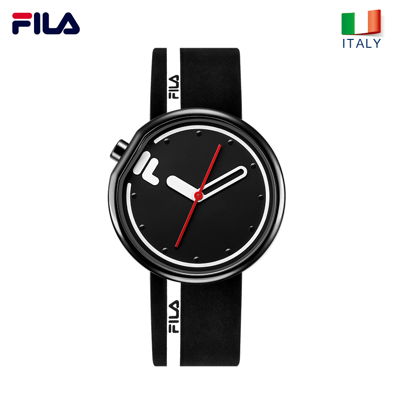 FILA watch men and women couple watch quartz watch sports student simple fashion silicone belt watch 161 korean fashion watch trend simple casual atmosphere sports men s watch student couple watch luminous steel belt female watch