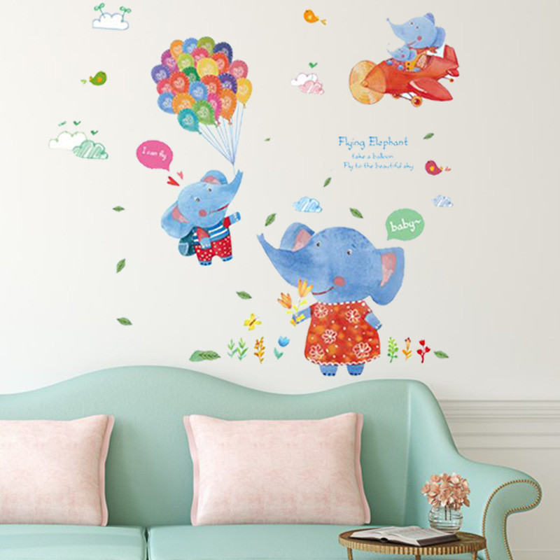 elephant nursery decor 5