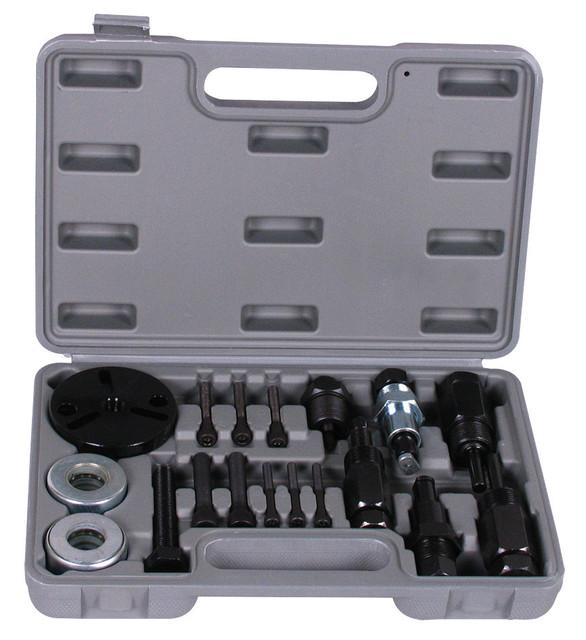 Frete Grátis, A/C Compressor Clutch Remover Instalador Extrator Ferramentas de Ferramentas De Ar Condicionado Automotivo