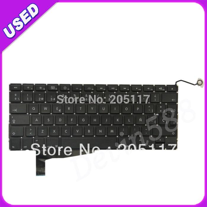 LAPTOP SP Keyboard FOR Apple MacBook Pro Unibody 15 A1286 2008 Year new laptop keyboard for apple macbook pro a1502 2013 2014 13 sp layout
