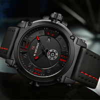 NAVIFORCE Top Brand Luxury Men S Sports Watches Men Waterproof Quartz Watch Man Leather Military Wrist