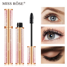 MISS ROSE Mascara Black Thick Curly Long And Waterproof Instantaneous Elongat Eyelashes Eye cosmetic Makeup