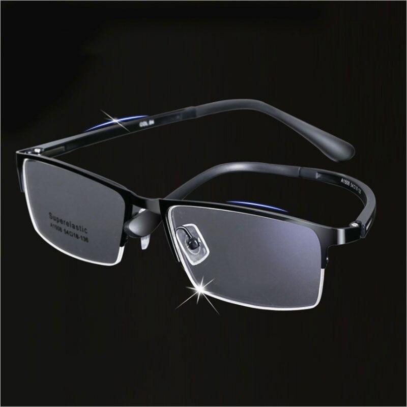 Neue 1508 Vollrand Metall Legierung Brillen Rahmen für Männer Brillen Optische Verordnung Brille für Männliche Brille