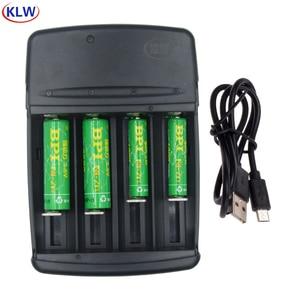 Image 1 - 2020 Mới Sạc Pin Có Đèn LED Báo Sạc Nhanh Cho 1.6V Một AA AAA Pin AAAA C D SC Pin NI ZN Sạc EU/Mỹ Cắm