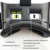 "Caja 3.0 de Realidad Virtual VR VR 120FOV Plus Cartón Real Lentes de cristal Gafas 3D Auricular para 4-6 ""Smartphone + Gamepad"