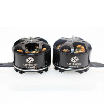 2 PCS Multi-axis brushless motor X3110 Aerial photography Motor 12N14P KV460 / KV700/ KV780 EZO bearing 1CW 1CCW HLY Q3