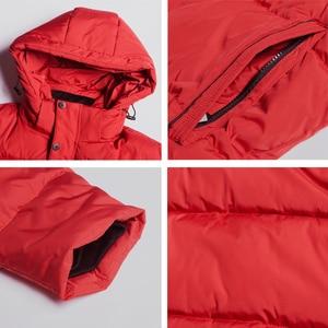 Image 5 - 2019 novo inverno jaqueta masculina de alta qualidade casaco homem com capuz roupas masculinas casuais roupas algodão marca vestuário mwd19601d