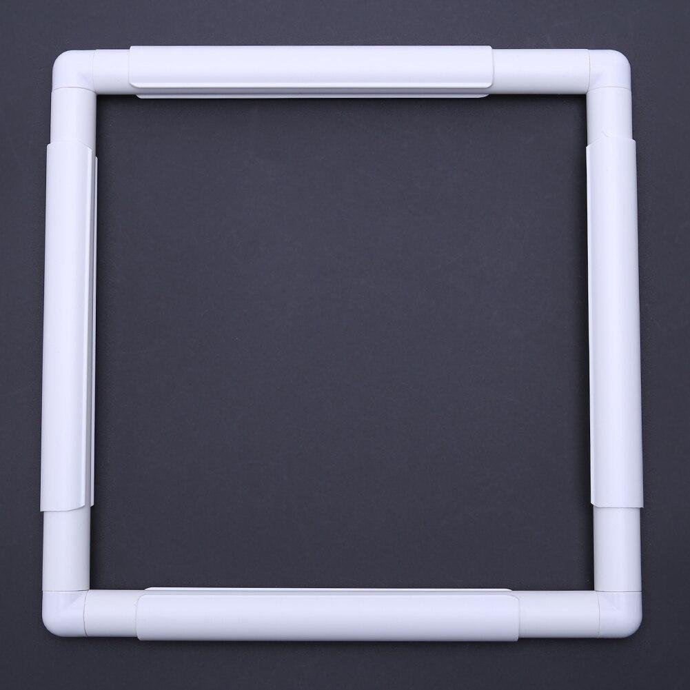 5 Größe Kunststoff Quadratischen Hoop Stickerei und Kreuzstich ...