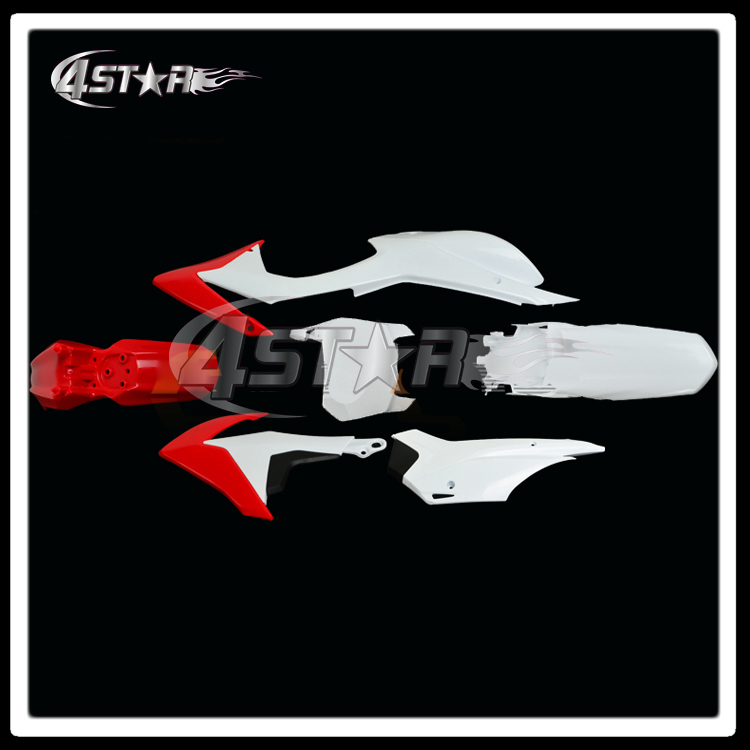 Пластика тела пластика наборы для ОФД CRF110F 2013-2015 Байк Мотокросс эндуро Супермото см мотоцикл