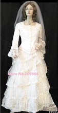 SASS Victorian Theater Dress Costume Custom made for you/Vintage Costume/Event Dress