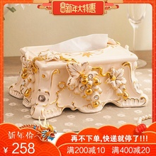 tissue box napkin holder Creative European Style Fashion Retro Pastoral Lovely Simple Ceramic Grape Towel Boxes