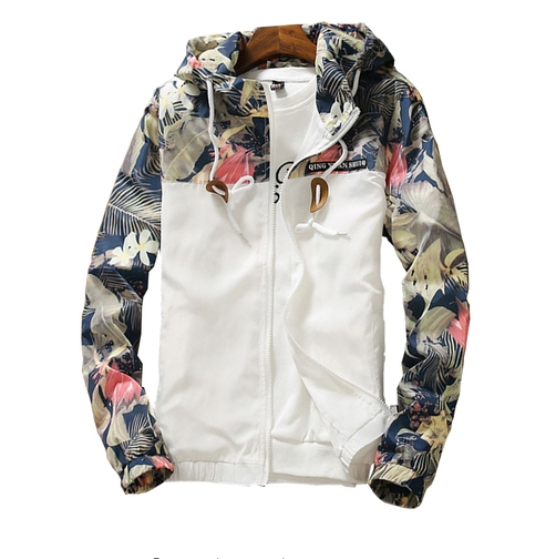 Men's Jacket, Spring And Autumn, Thin Slim, Korean Youth Student Men's Top