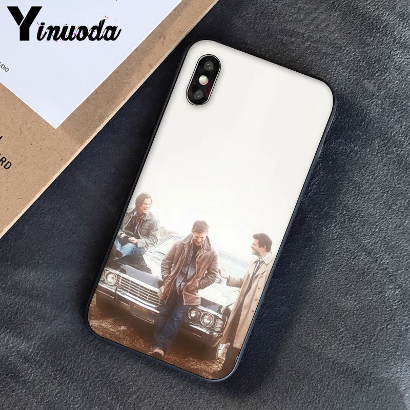 Image 5 - Yinuoda Supernatural Jensen Ackles Dean Winchest TPU black Phone Case Cover Shell for iPhone 8 7 6 6S Plus 5 5S SE XR X XS MAX-in Half-wrapped Cases from Cellphones & Telecommunications