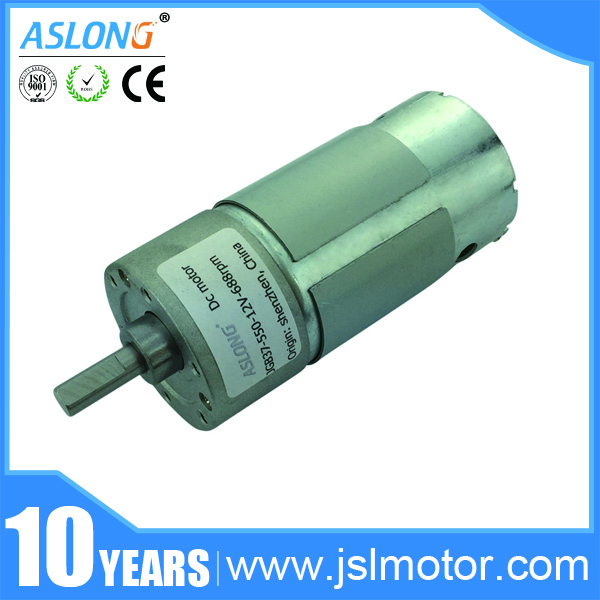 Hot Wholesales Customized Low Speed JGB37-550 Motor 12V 6V High Torque DC Reversible Reduction Motor Gear Motor все цены