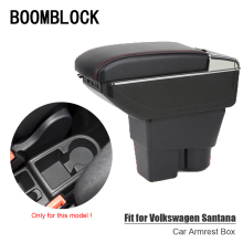 Auto Car Armrest Box Modified For Volkswagen VW Jetta MK6 Santana Accessories 2013 2014 2015 2016 USB Cup Holder Ashtray Storage