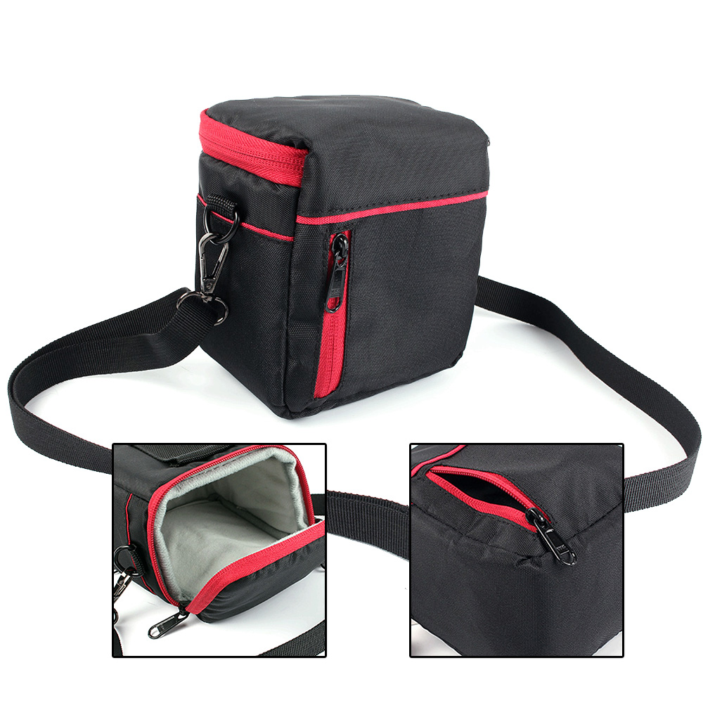 Camera <font><b>Bag</b></font> Case Shoulder Cover Case For Panasonic <font><b>LUMIX</b></font> <font><b>LX100</b></font> LX7 LX5 LX4 LX3 GX8 GF8 GF7 GF6 GF5 Outdoor Photography <font><b>Bag</b></font> image