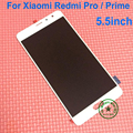 "5.5 ""redmi pro pantalla lcd asamblea de pantalla táctil digitalizador para xiaomi redmi pro/redmi pro primer teléfono reparación de parte de reemplazo"