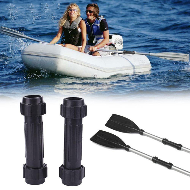 28mm  Black Rubber Boat Paddle Connection Tube Pipe Diameter Universal Connector Boat Accessories Marine